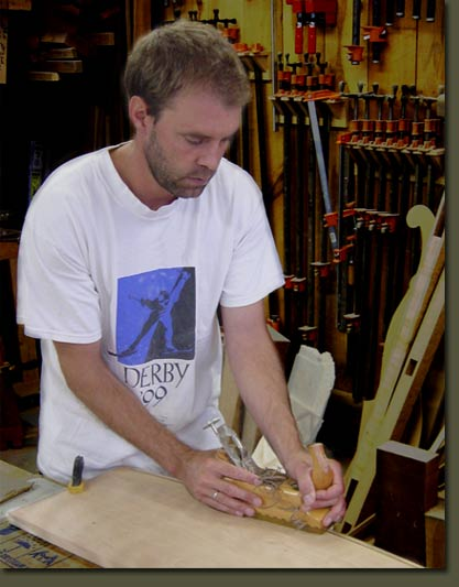 Doug Clarner produces handcrafted custom made furniture in his Vermont furniture studio