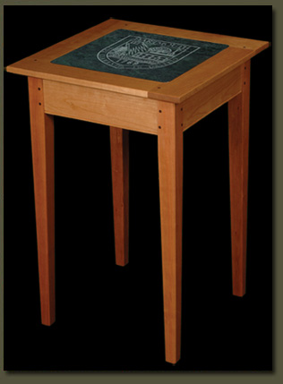 Make a lasting impression by choosing a Dartmouth gift that reflects your own committment to excellence -- the Dartmouth Alumni Table from Clarner Woodworks