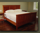 Mahogany Elliot Street King Bed