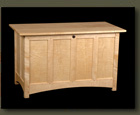 Tiger Maple Hope Chest