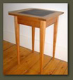 Soapstone End Table