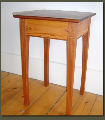 Absolutely lovely in its simplicity, our custom Mahogany End Table is classy and sophisticated