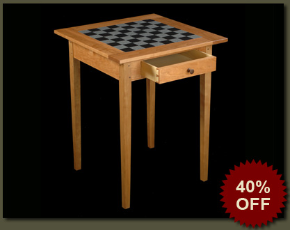Sale on Handcrafted Game Table | Handmade solid wood chess or