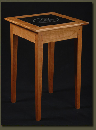 Make a lasting impression by choosing a wedding gift that reflects your own committment to excellence -- the Vermont Wedding Table from Clarner Woodworks
