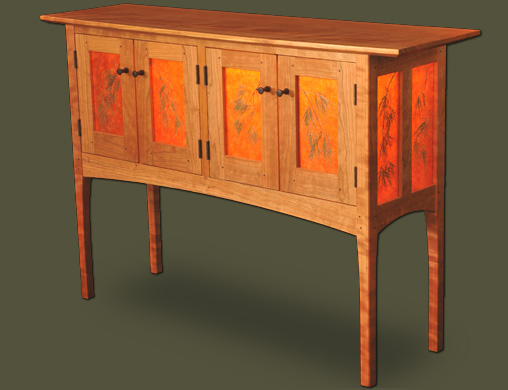 custom furniture maker vermont handcrafted solid wood furniture